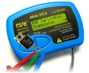 DCA55 mosfet tester Component – IC Tester Component, Model DCA55