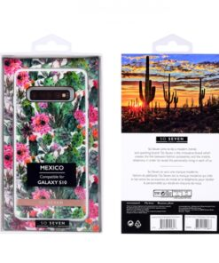 SO SEVEN MEXICO PINK FLOWER SAMSUNG S10 backcover