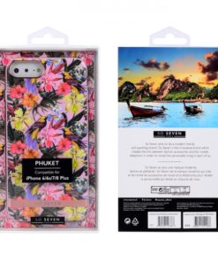 SO SEVEN PUCKET TROPICAL PINK BIRD IPHONE 7 PLUS 8 PLUS backcover