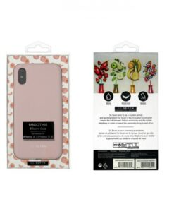 SO SEVEN SMOOTHIE IPHONE X XS pink backcover